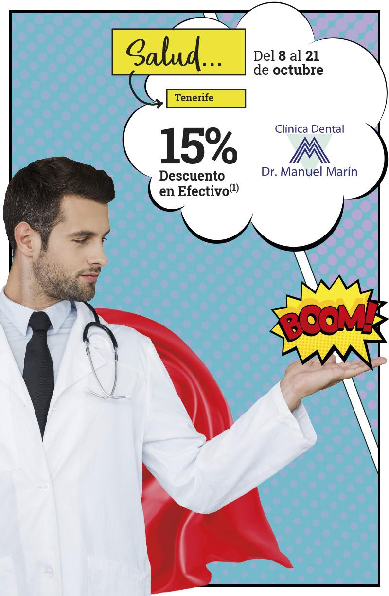 ¡Chin, chin! Un 15% en SALUD