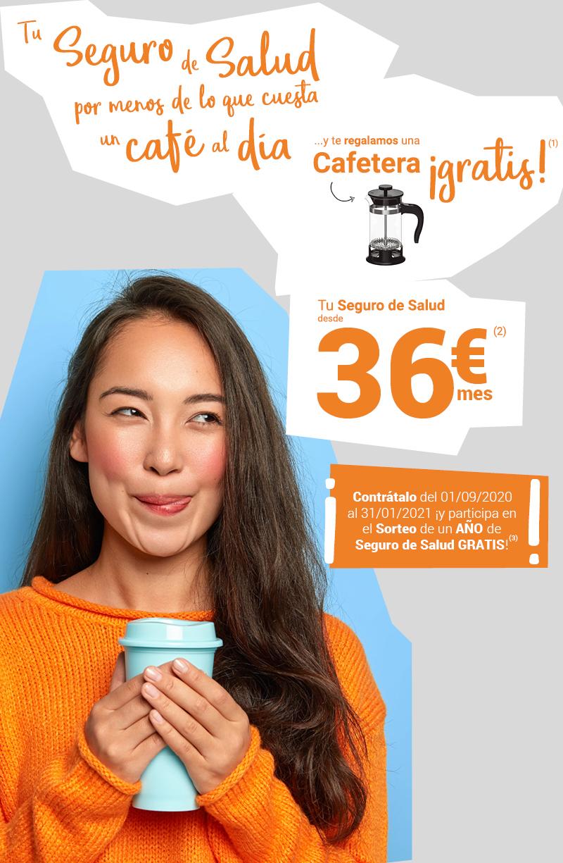 Tu Seguro de Salud desde 36€/mes