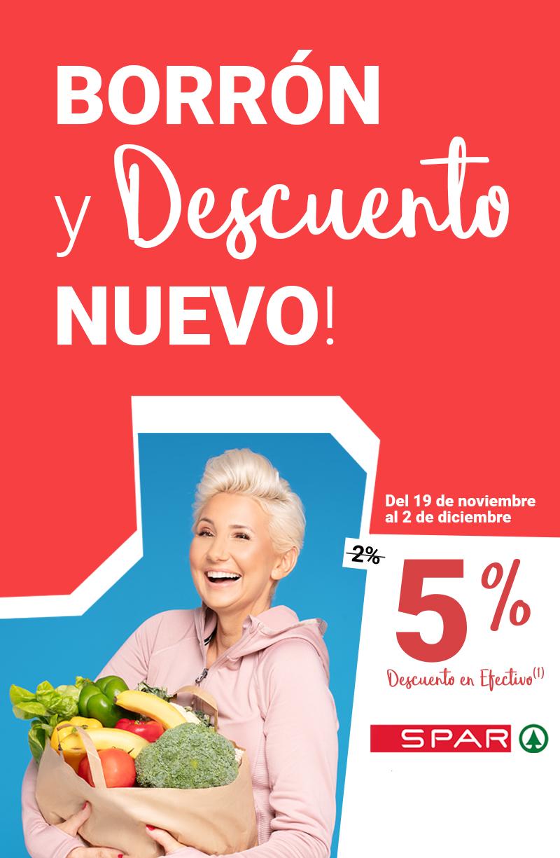 5% en SPAR