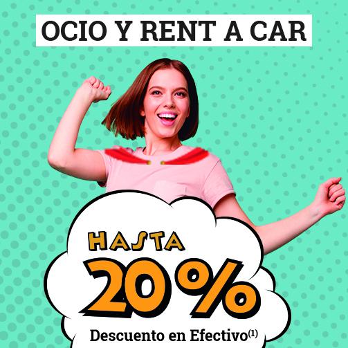 LANZAROTE: ¡Tienes hasta un 20% en OCIO!