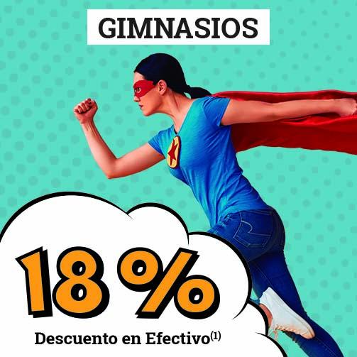 ¡Tenemos un 18% en Deportes!