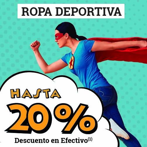 LANZAROTE: ¡Hasta un 20% en Deportes!