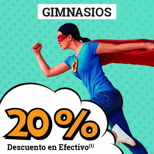 ¡Tenemos un 20% en Deportes!