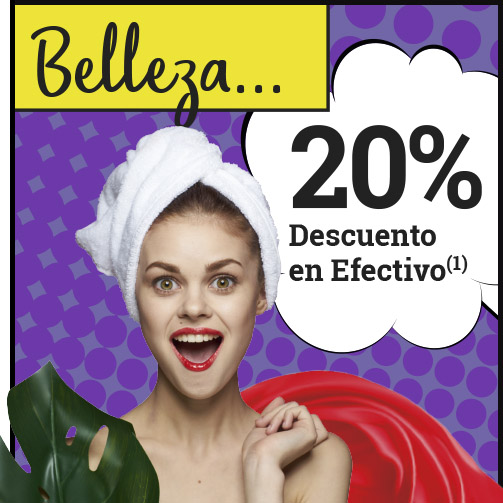 ¿Un 20% en BELLEZA?