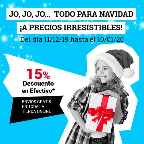¡15% en Tiendas Online!