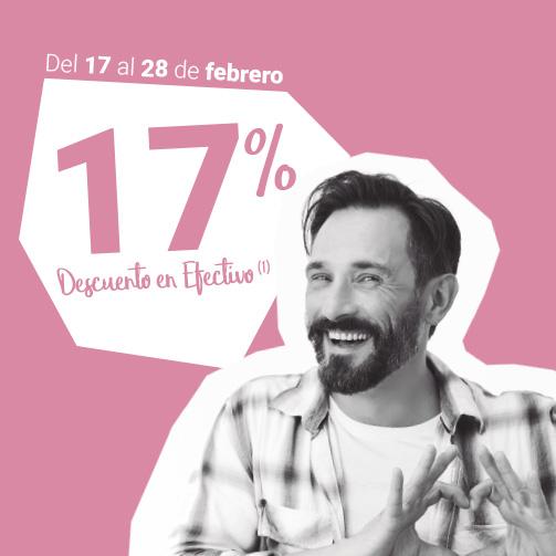 ¡Un 17% en HOSPITEN!
