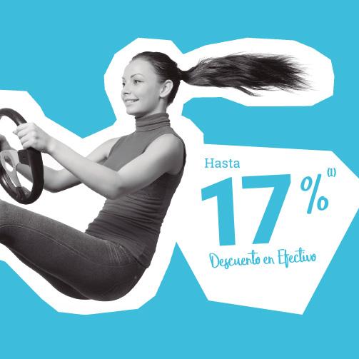 ¡Hasta 17% en AUTOMOCIÓN y ALIMENTACIÓN!