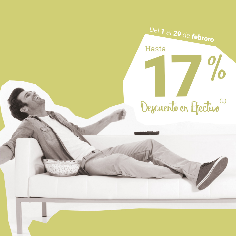 CASTELLÓN: ¡Un 17% en MUEBLES!