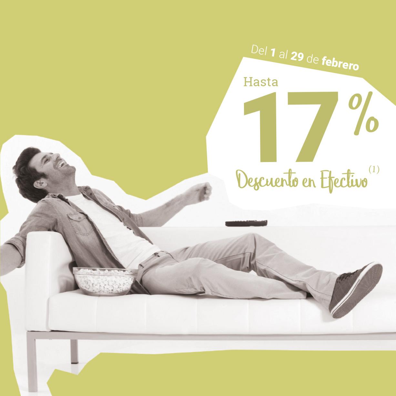 CÁDIZ: ¡Un 17% en MUEBLES y DECORACIÓN!