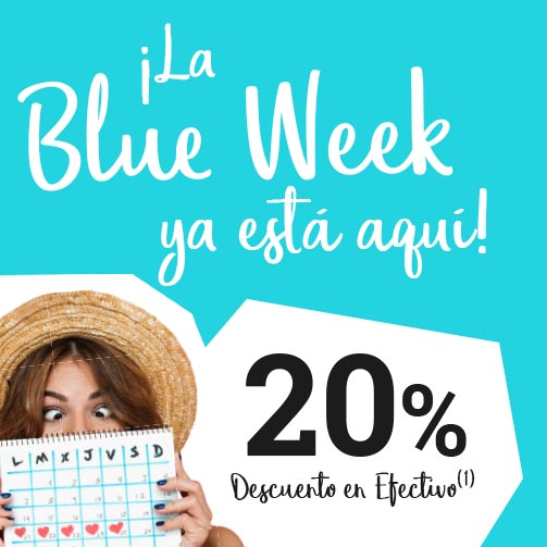 ¡Vive la Blue Week de VENTAJON!