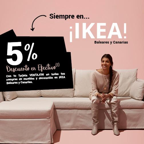 ¡5% en IKEA!